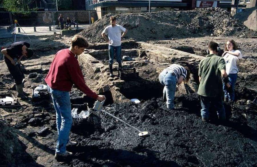 Archeologisch onderzoek Blijenhoek 1996 Gorinchem