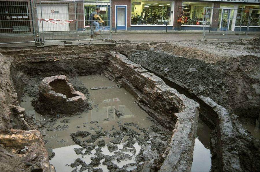 Opgraving synagoge Kwekelstraat (2002)