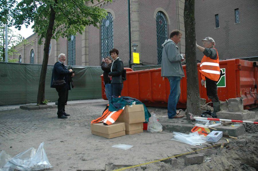 Archeologisch onderzoek Achter de kerk te Gorinchem, 2008