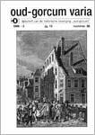 Floore, P.M. (1996)<br /> De opgraving van de Blijenhoek te Gorinchem, in: Oud-Gorcum Varia 13 nr. 36, p. 198-203.<br /> PDF (13 MB)