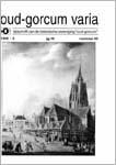 Busch, A.J. (1999)<br /> Het schilderij van de Groenmarkt, in: Oud-Gorcum Varia 16 nr. 45, p. 196-198.<br /> PDF (10 MB)