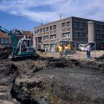 Beerput ontdekt op Gorcums Kazerneplein