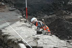 Rosmolensteeg-Kortendijk, opgraving (2007)